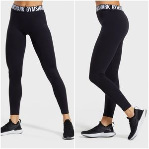Gymshark Fit Leggings Black/White size L NWT